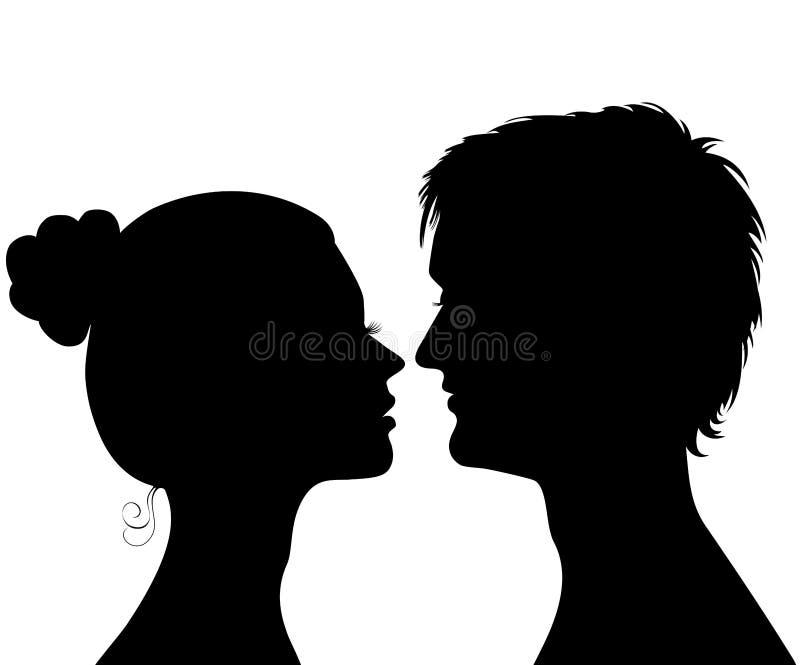 Amore a prima vista royalty illustrazione gratis