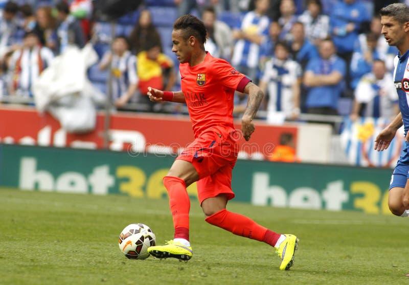 Silva de Neymar DA del FC Barcelona fotos de archivo