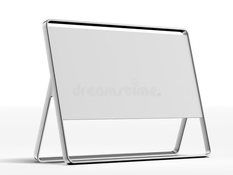 Download Silver ad plate stock illustration. Illustration of emblem - 33437779