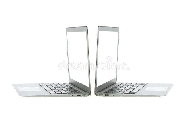 Download Silver Aluminum Laptop Computer Stock Image - Image: 23793071