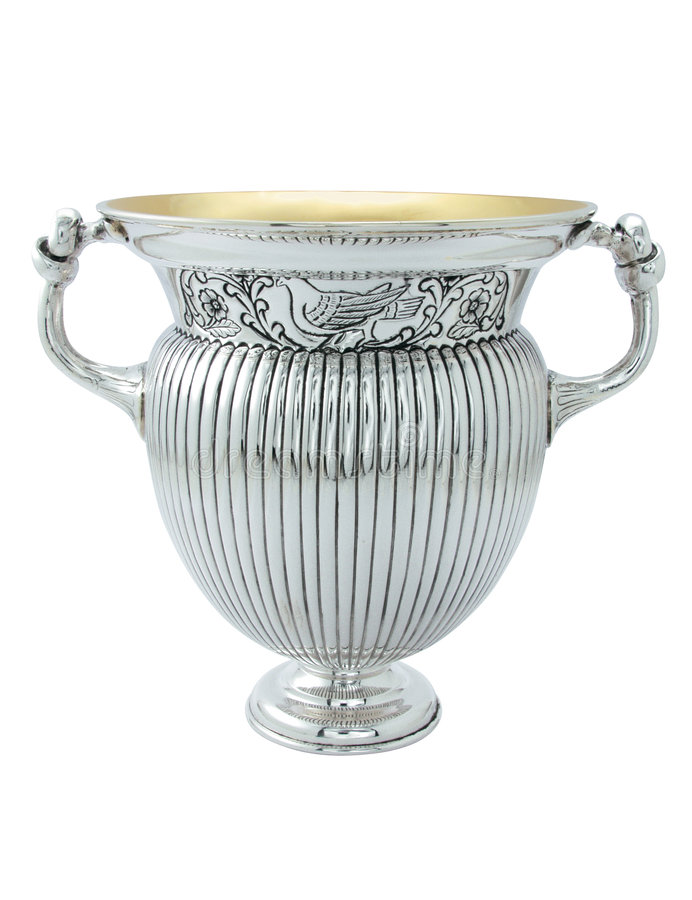 Download Silver ancient amphora stock photo. Image of fashioned - 8960884