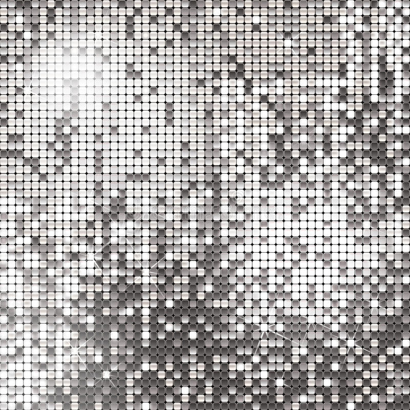 Silver background. Of sparkling sequins