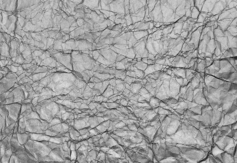 Silver background, texture. Silver background texture of crumpled paper stock images