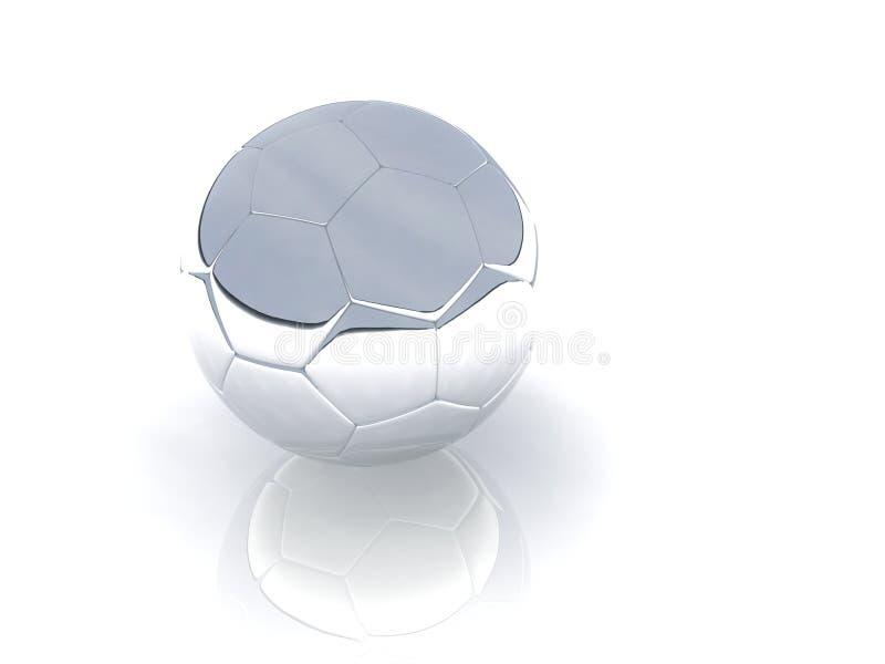 Silver ball vector illustration