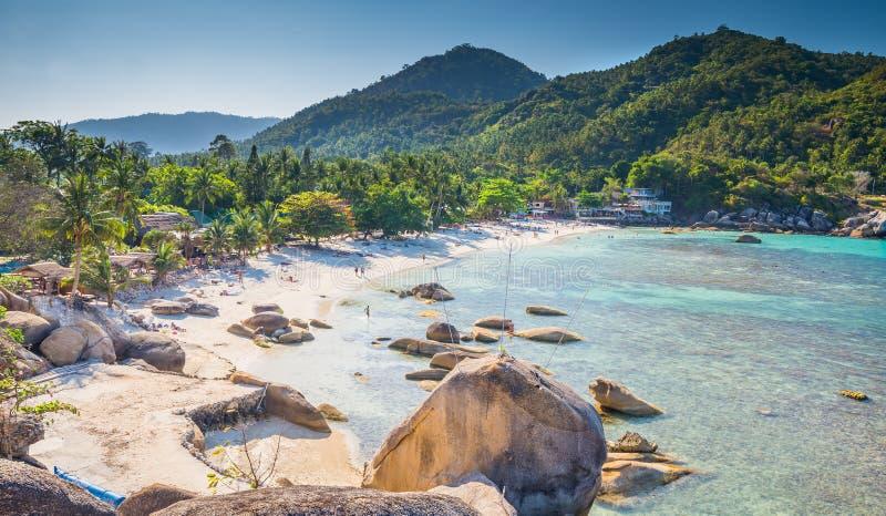 Silver beach, Crystal Beach beach view at Koh Samui Island Thailand. Silver beach, Crystal Beach beach view of Koh Samui Island Thailand stock photos
