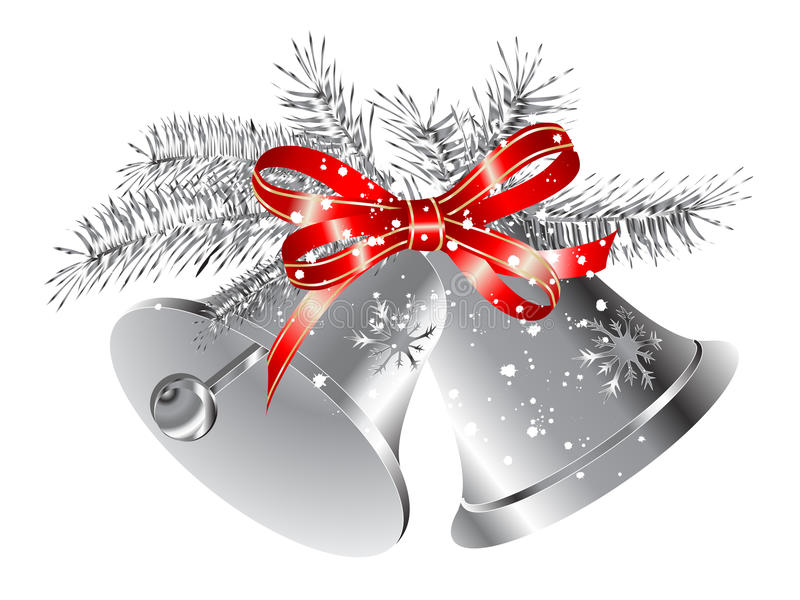 Silver Bells Royalty Free Stock Photo