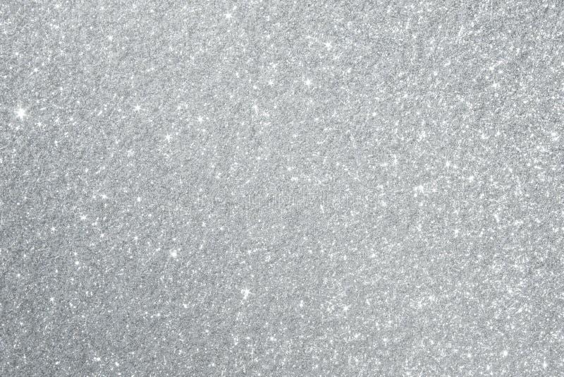 Silver blänker bakgrundstextur arkivfoto