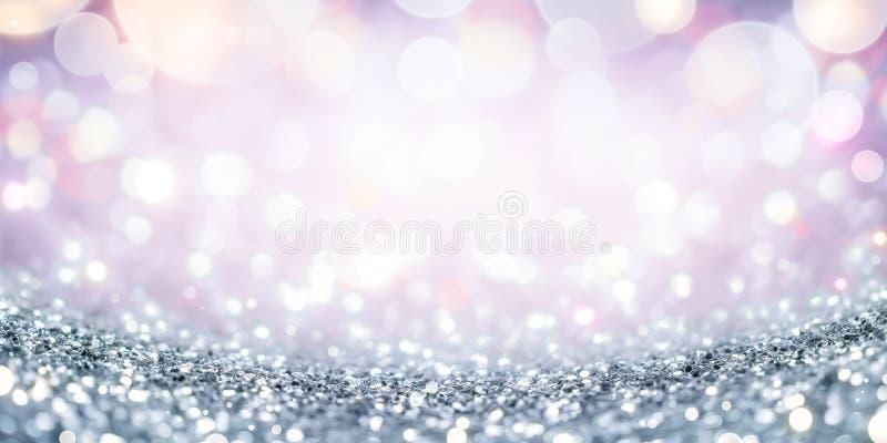 Silver bl?nker bakgrund arkivfoto