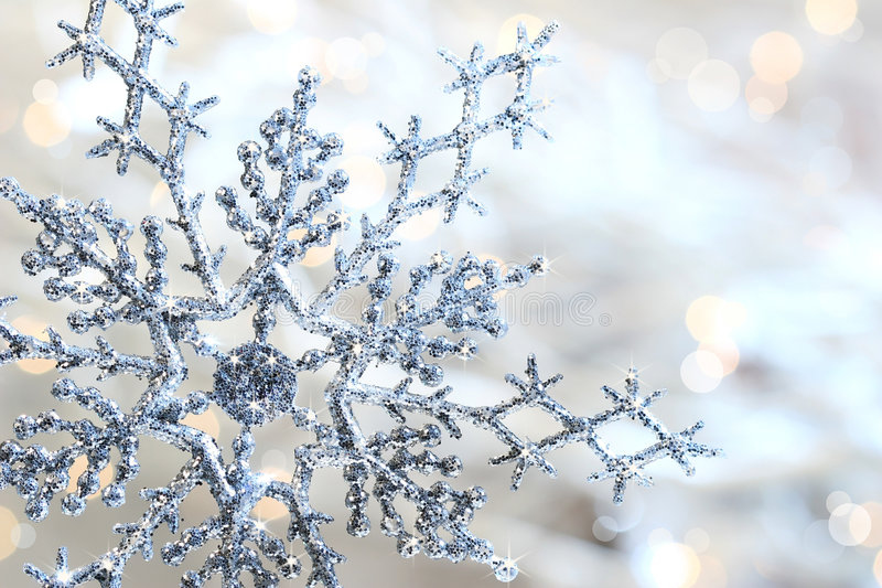 Download Silver blue snowflake stock image. Image of iceflower - 3656463