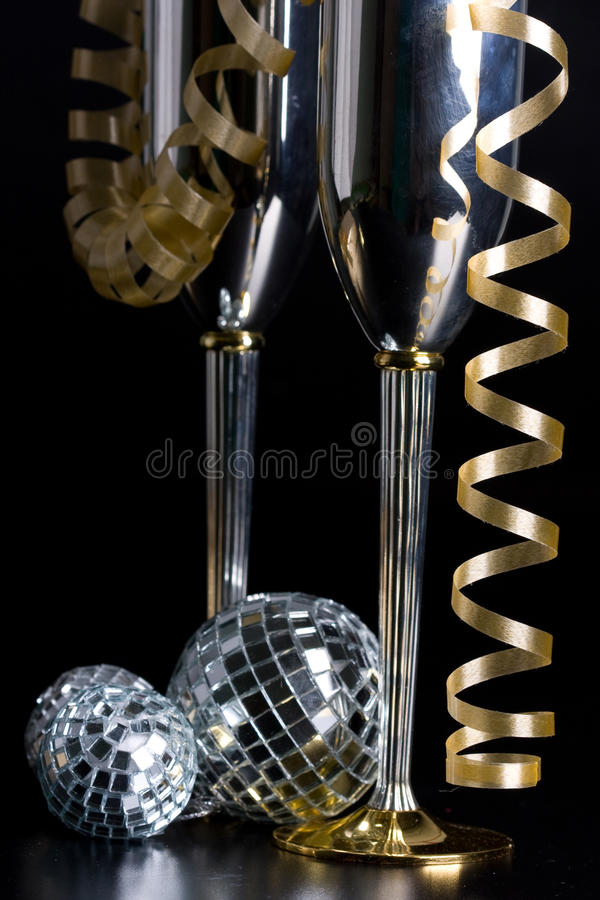 Download Silver Bocals And Serpentine Decoration Stock Image - Image: 10808923
