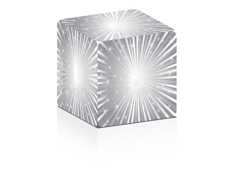 Download Silver box stock vector. Illustration of deflated, design - 18102838