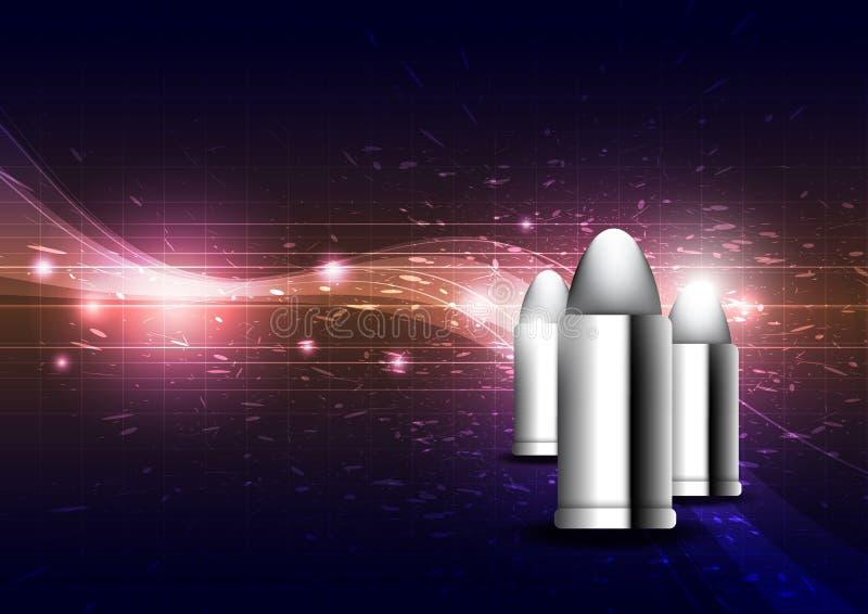 Silver Bullet Stock Photo