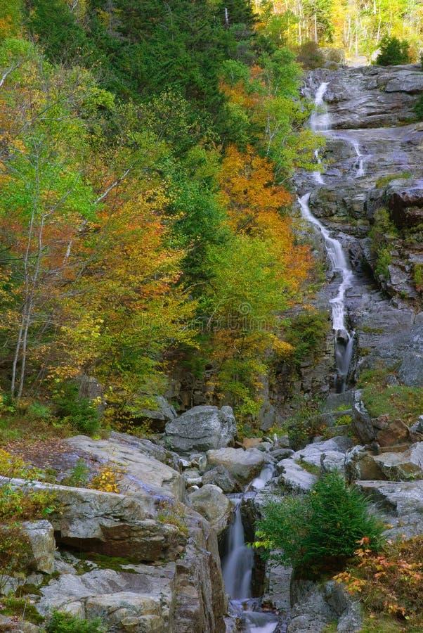 Silver Cascades royalty free stock photography