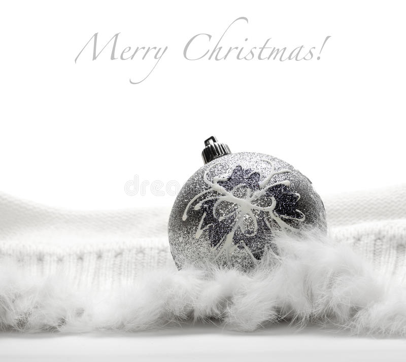 Free Silver Christmas Ball Royalty Free Stock Photography - 17062467