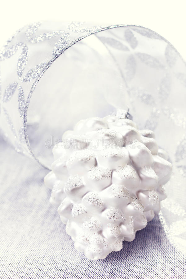 Download Silver Christmas Ornaments Close Up. Christmas Time Stock Photo - Image: 35409052