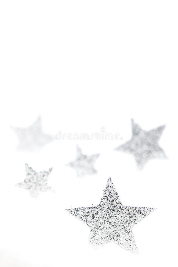 Free Silver Christmas Stars Stock Photos - 15677023