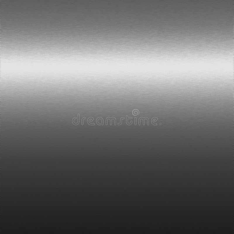 Silver Chrome Texture, Background To Design Stock Image
