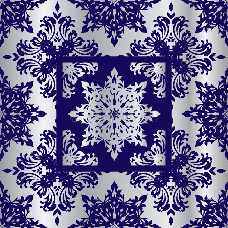 Download Silver Cobalt Reflief Sq Royalty Free Stock Images - Image: 11514579