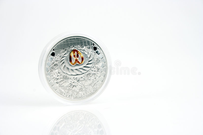 Download Silver coin stock photo. Image of plastic, money, metal - 4670810