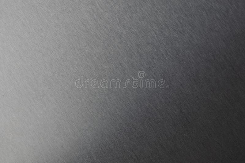 Silver color brushed metal surface texture pattern background royalty free stock images