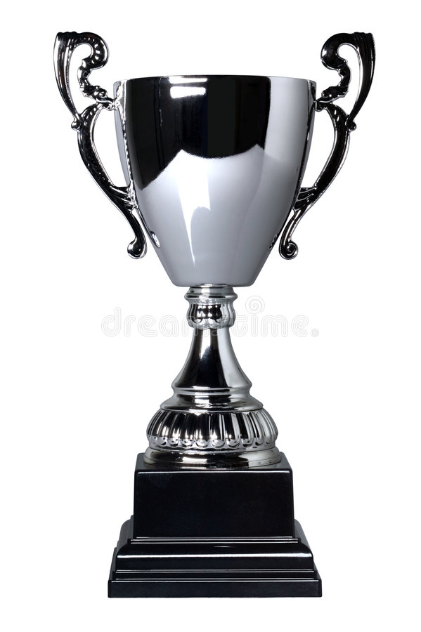 Free Silver Cup Trophy Isolated Royalty Free Stock Photography - 7445787