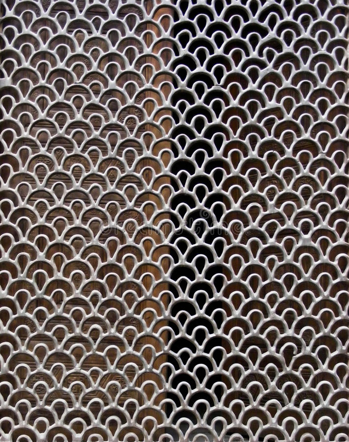 Download A decorative metal mesh stock image. Image of curve, decoration - 27094757