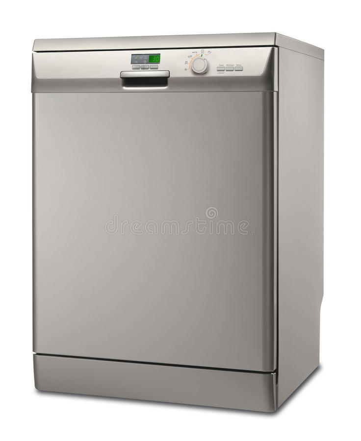 Download Silver dishwasher stock illustration. Image of built - 13279194