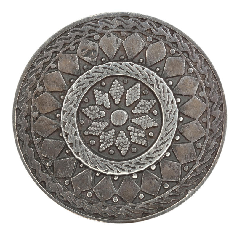 Download Silver egyptian brooch stock image. Image of egyptian - 25787679