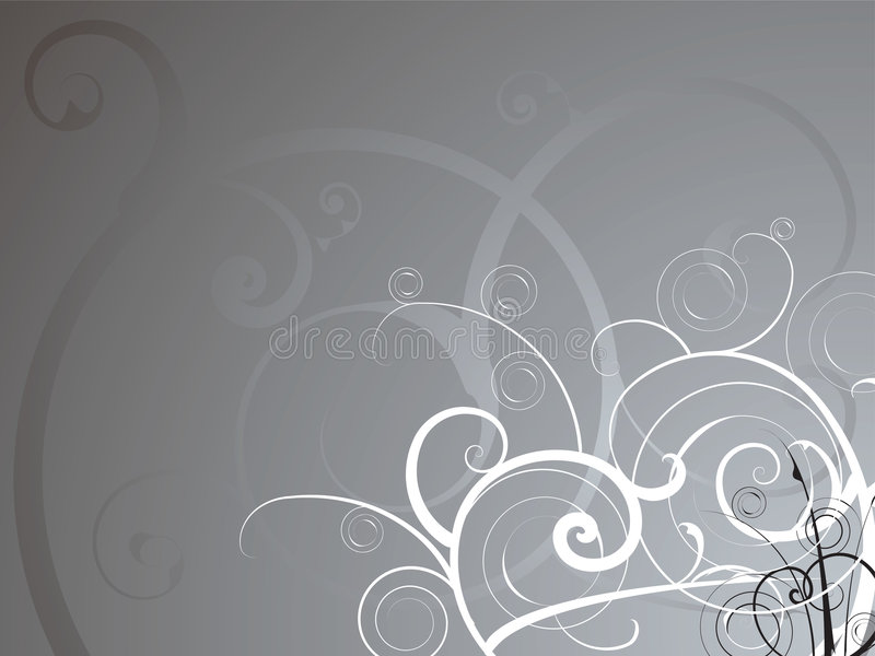 Silver flow royalty free illustration