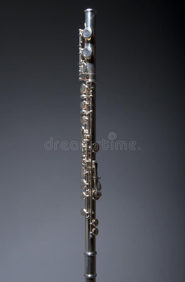 Silver Flute Royalty Free Stock Photos