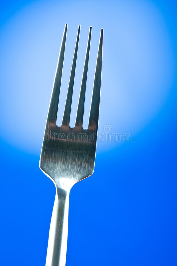 Download Silver fork stock photo. Image of fork, kitchenware, white - 14857766