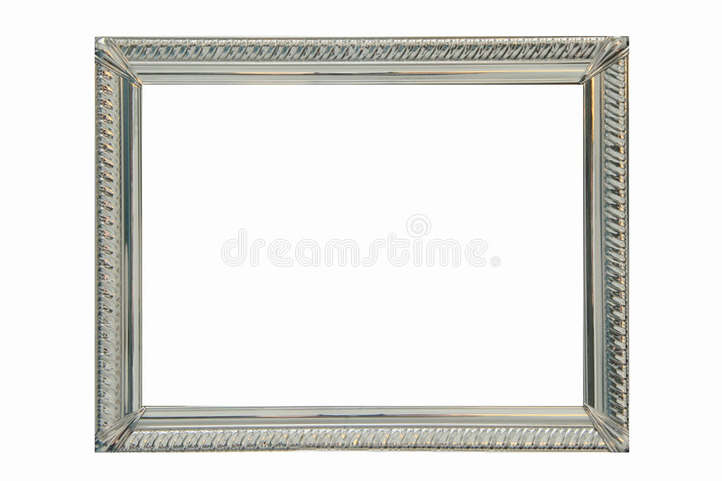 Download Silver Frame Royalty Free Stock Photos - Image: 4929998