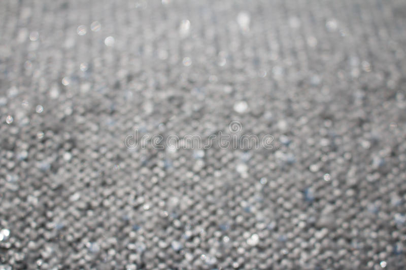 Silver glitter abstract background stock image