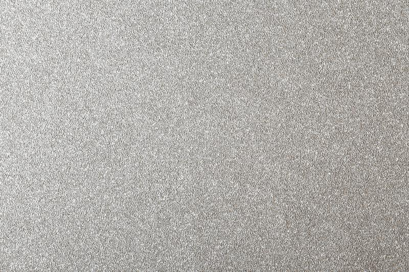 Silver glitter background, shiny paper texture stock photos