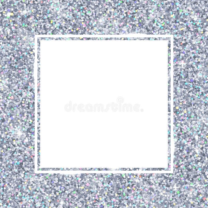 Wunderbar Silver Glitter Picture Frames Zeitgenössisch - Rahmen ...