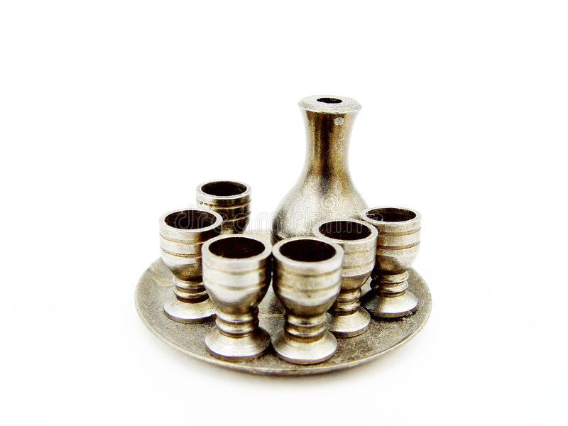 Download Silver goblets stock image. Image of cutout, collection - 20643