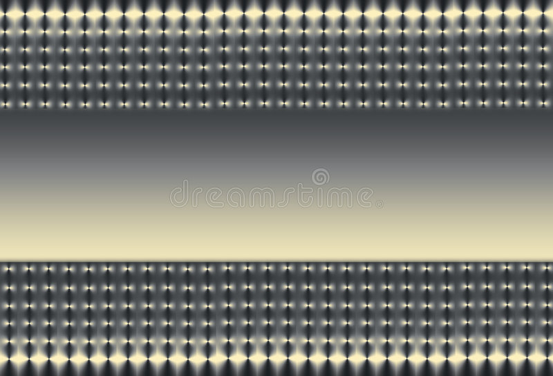 Silver Gold and Black Mesh stock illustration