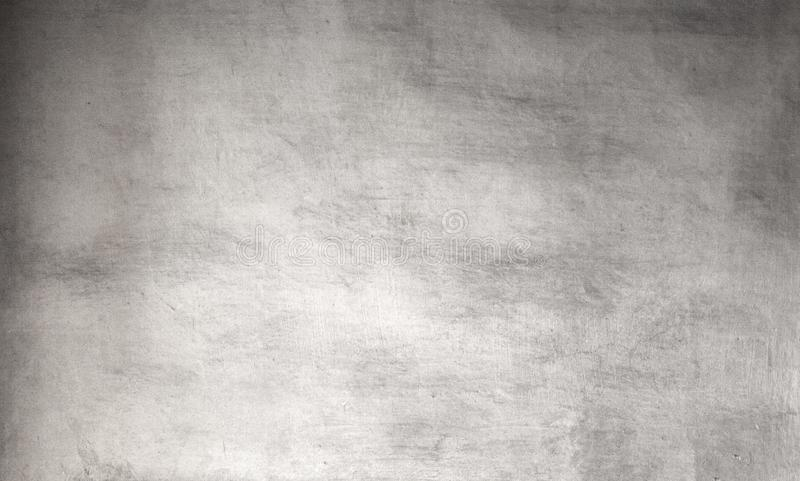 Silver grunge background - Vintage Rough grey textured wall for stock photo