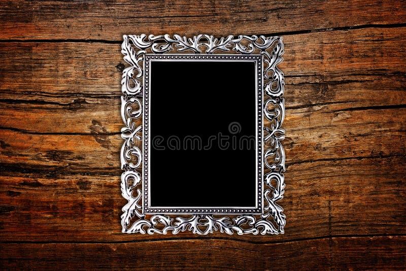 Silver inramar royaltyfria foton