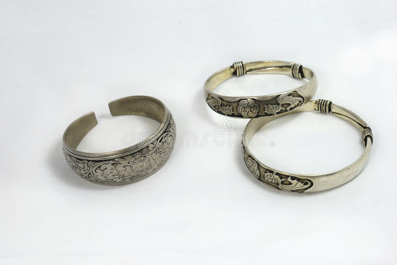 Silver Jewelry royalty free stock images