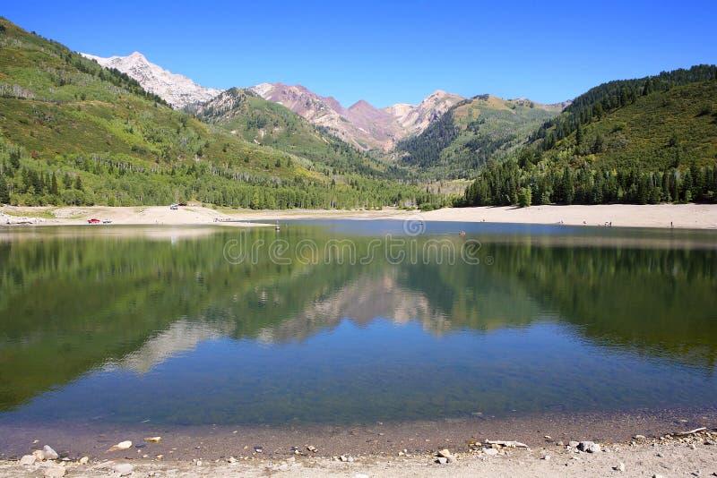 Silver Lake Flat Reservoir Stock Images