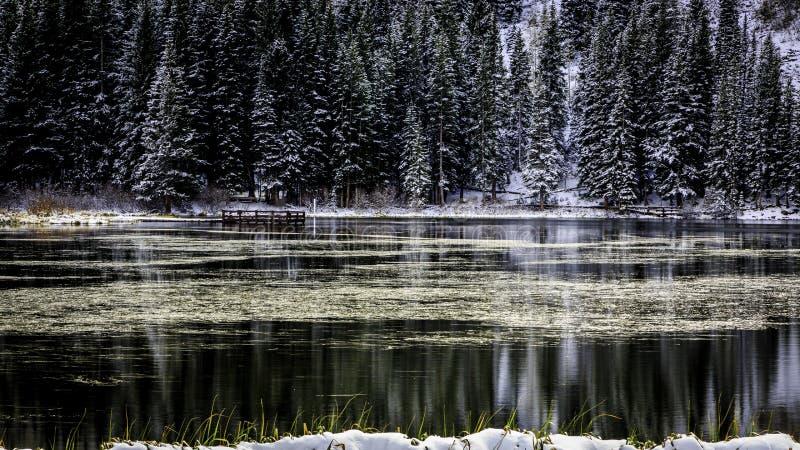 Silver Lake royalty free stock photography