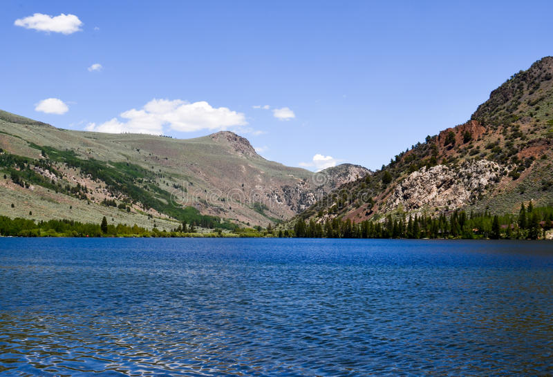 Silver Lake nehmen im Juni See Kalifornien Zuflucht stockbilder