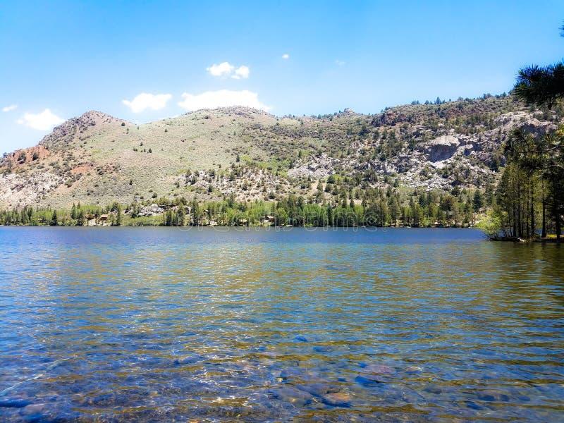 Silver Lake nehmen Zuflucht lizenzfreie stockbilder