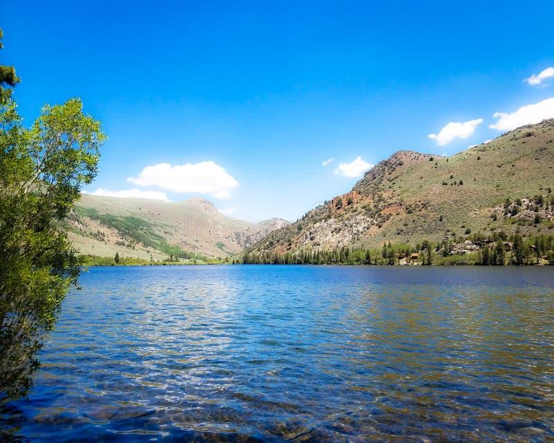 Silver Lake tillgriper royaltyfria foton