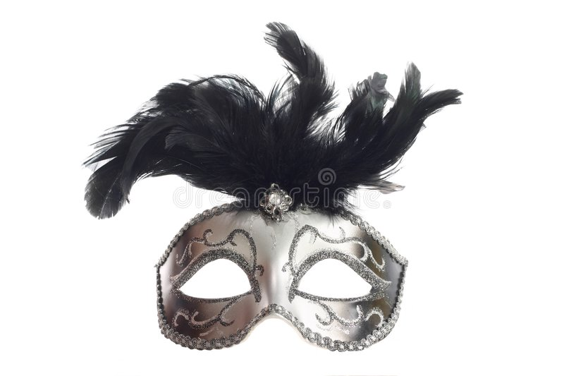 Download Silver mask isolated stock image. Image of drama, color - 2401365
