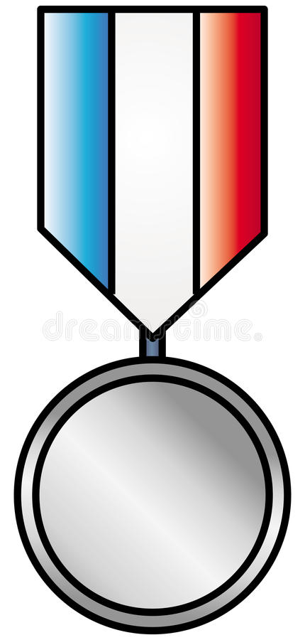 Download Silver medal stock vector. Illustration of achievement - 20700010