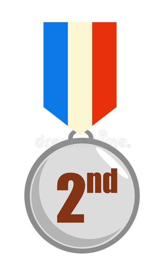 Download Silver Medal Stock Image - Image: 619211