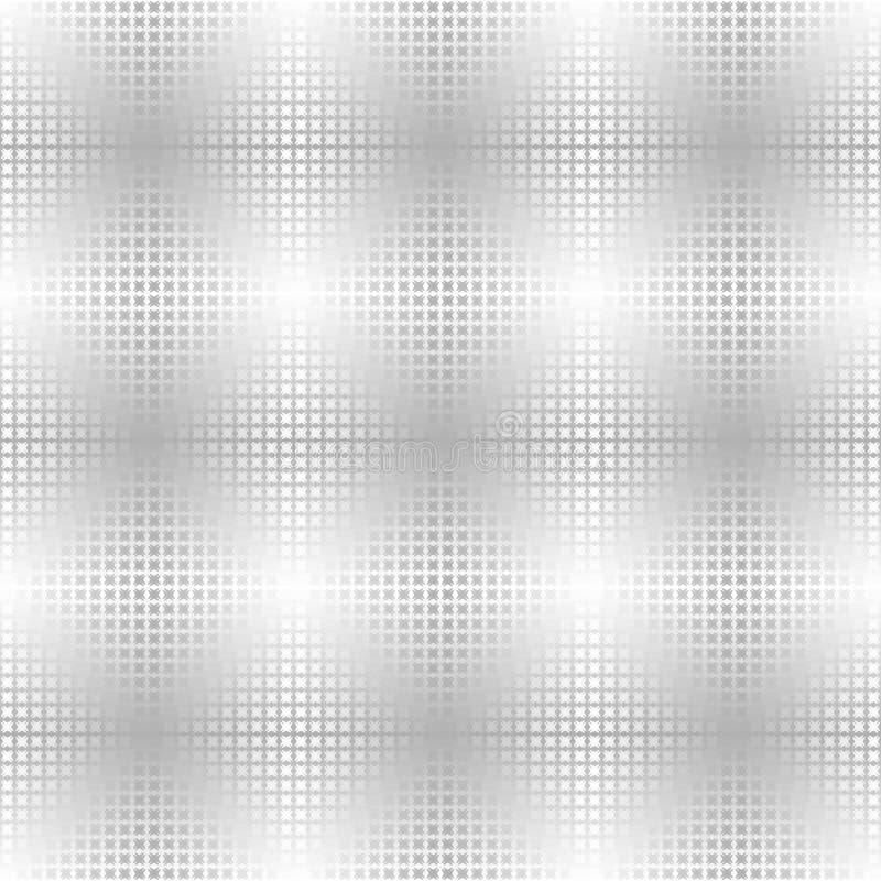 Silver metallic cross background. Seamless vector vector illustration