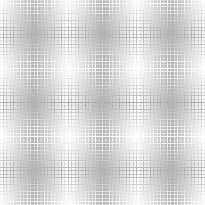 Silver metallic square background. Seamless vector vector illustration